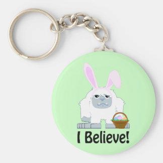 I Believe! Easter Yeti Keychain