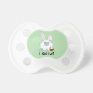 I Believe! Easter Yeti Pacifier