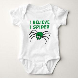 I believe I to spider - i believe i SPI that Baby Bodysuit