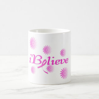 I BELIEVE in a CURE for BREAST CANCER Coffee Mug