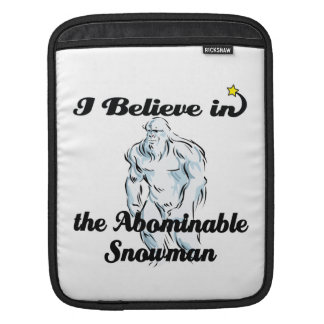 i believe in abominable snowman sleeves for iPads