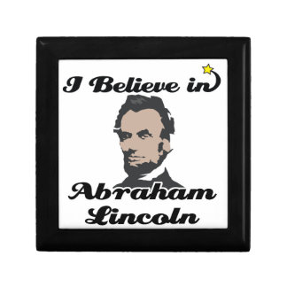 i believe in abraham lincoln jewelry box