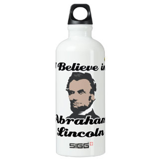 i believe in abraham lincoln SIGG traveler 0.6L water bottle