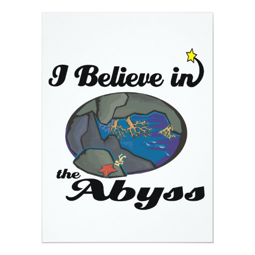 i believe in abyss custom announcements