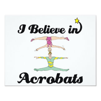 i believe in acrobats personalized announcements