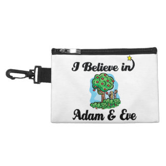 i believe in adam and eve accessory bags