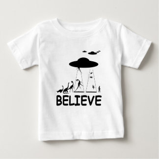 I believe in aliens baby T-Shirt
