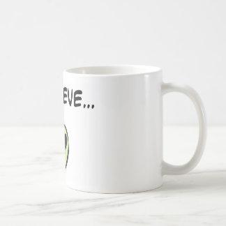 I Believe in Aliens Classic White Coffee Mug