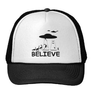 I believe in aliens mesh hats