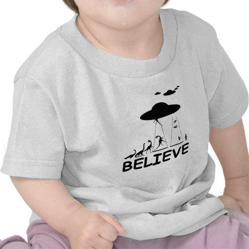 I believe in aliens shirts