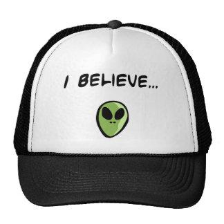 I Believe in Aliens Trucker Hat