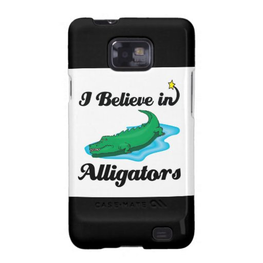 i believe in alligators samsung galaxy SII covers