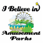 i believe in amusement parks acrylic cut out