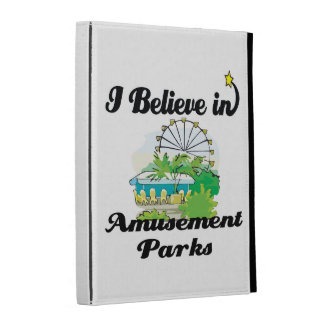 i believe in amusement parks iPad folio case