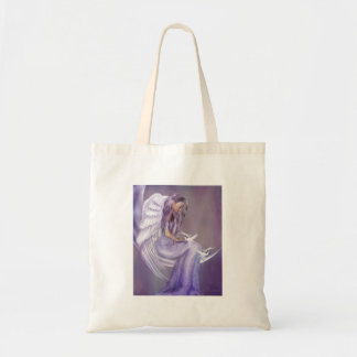 I Believe In Angels Budget Tote Bag