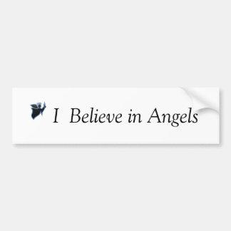 I  Believe in Angels Bumper sticker Car Bumper Sticker