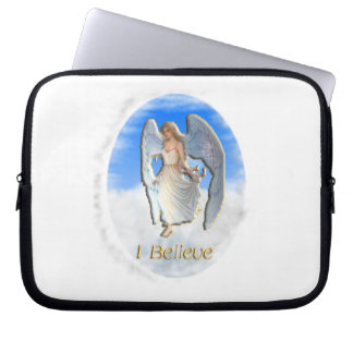 I believe in Angels Laptop Sleeve