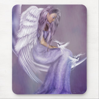 I Believe In Angels Mouse Pad