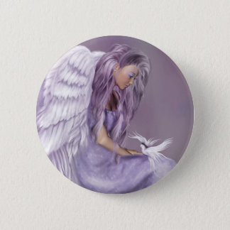 I Believe In Angels Pinback Button
