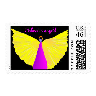 I Believe in Angels! Stamps