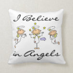 I Believe in Angels T-shirts and Gifts Throw Pillows