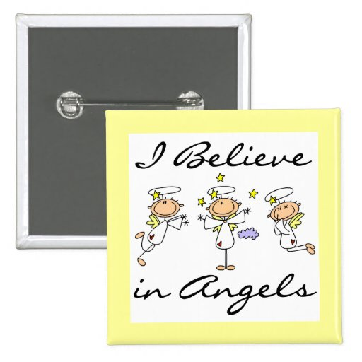 I Believe in Angels T-shirts and Gifts Pins