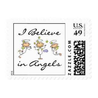 I Believe in Angels T-shirts and Gifts Postage