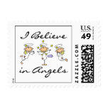 I Believe in Angels T-shirts and Gifts Postage Stamp