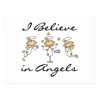 I Believe in Angels T-shirts and Gifts Postcard