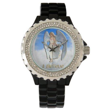 I believe in Angels Wrist Watch