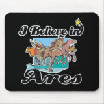 i believe in Ares Mouse Pad
