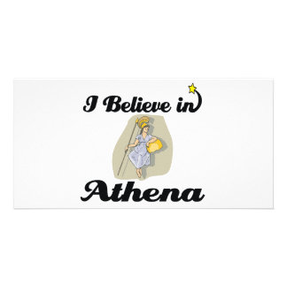 i believe in Athena Picture Card