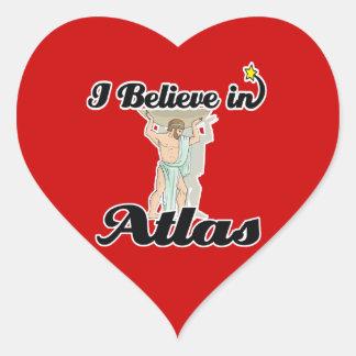 i believe in Atlas Heart Sticker