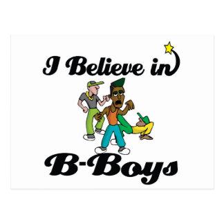 i believe in B-boys Postcard