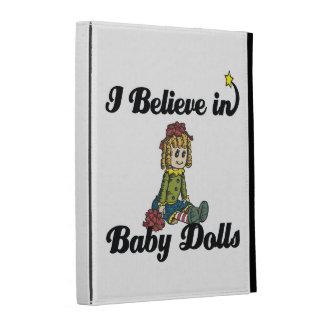 i believe in baby dolls iPad cases