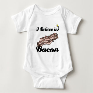 i believe in bacon tee shirt