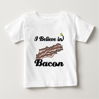 i believe in bacon t-shirts
