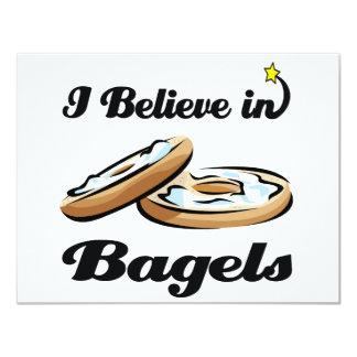 i believe in bagels card