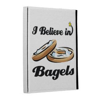 i believe in bagels iPad cases
