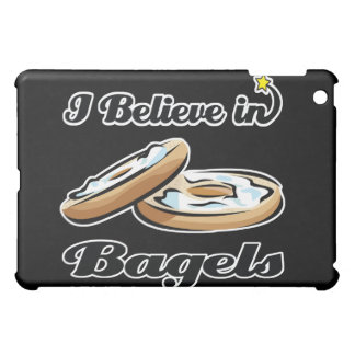 i believe in bagels iPad mini covers