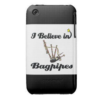 i believe in bagpipes iPhone 3 Case-Mate case