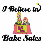 i believe in bake sales photo cut outs