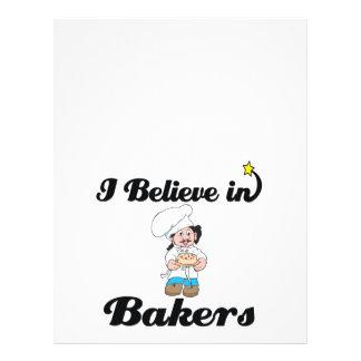 i believe in bakers flyers