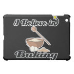 i believe in baking iPad mini covers
