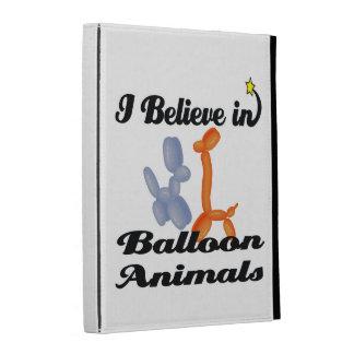 i believe in balloon animals iPad folio cases