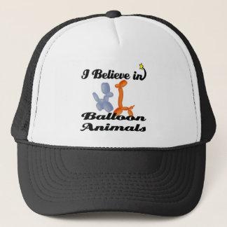 i believe in balloon animals trucker hat