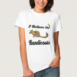 i believe in bandicoots tee shirt