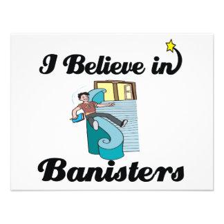 i believe in banisters custom invite