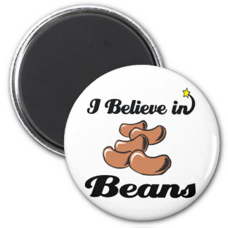 i believe in beans magnets