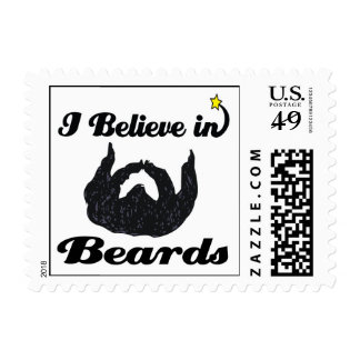 i believe in beards stamps